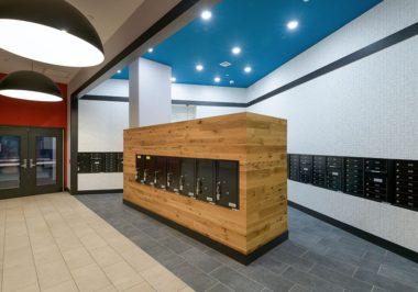 Locker Storage At The Standard at New Brunswick